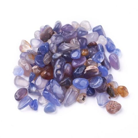 Chips - Natural Agate 8~19mm - 50g